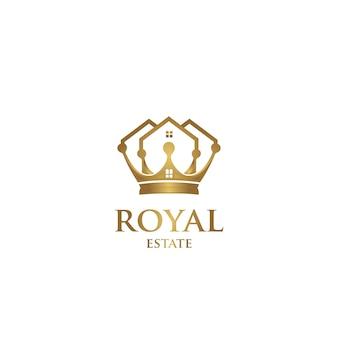 Królewskie logo nieruchomości