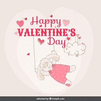 Królik valentine