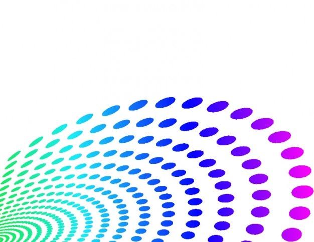 Kropek koła kolorów i tła copyspace