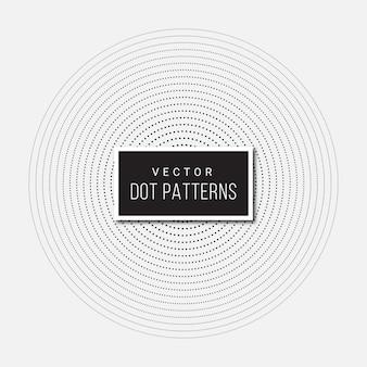 Kropka okrągły wzór tła