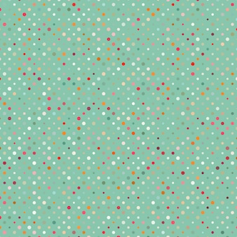 Kropki kolorowy abstrakcyjny wzór.