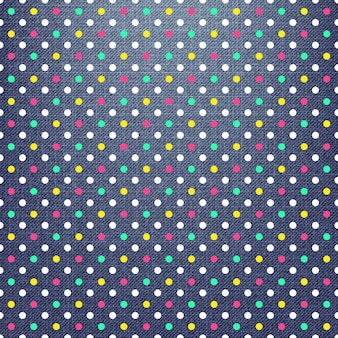 Kropki wzór na tekstyliach, streszczenie tło geometryczne. kreatywna i luksusowa ilustracja w stylu