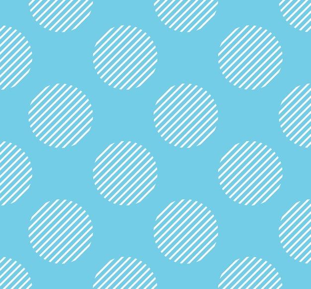 Kropki wzór z paskiem wewnątrz, geometryczne proste tło. elegancka i luksusowa ilustracja w stylu