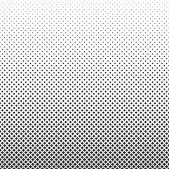 Kropkowane tło półtonów czarne kropki w nowoczesnym stylu na białym tle