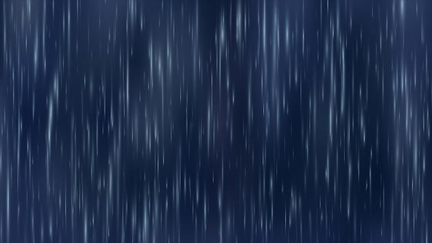 Krople deszczu w tle