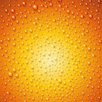 Krople wody na powierzchni jako tło.