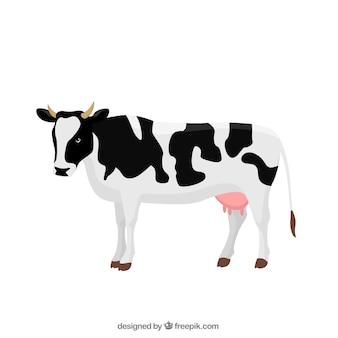 Krowa ilustracja