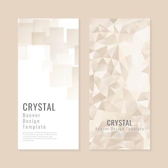 Kryształowa kolekcja teksturowanej tło