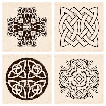 Krzyż celtycki.