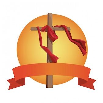 Krzyż katolicki symbol