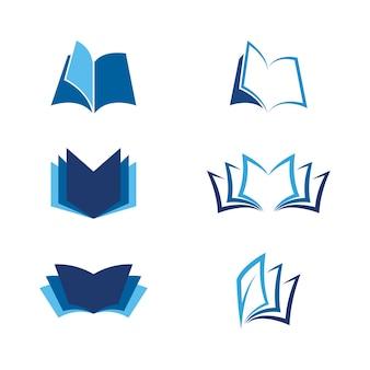 Książka wektor ikona ilustracja projektu szablon