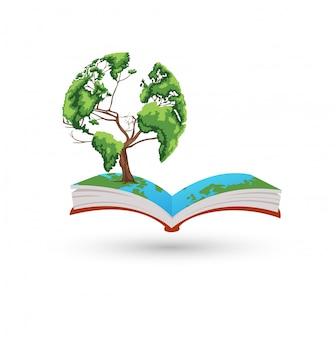 Książka z drzewa