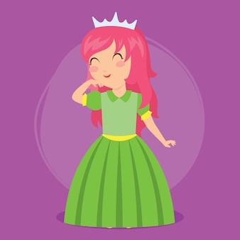 Księżniczka przypiąć do serii plakatów