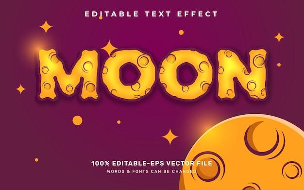 Księżyc efekt tekstowy