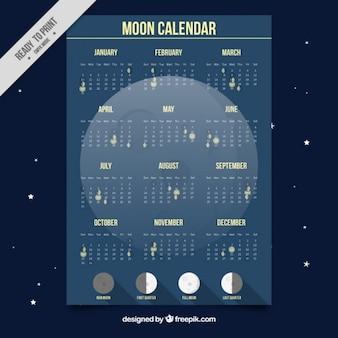 Księżyc kalendarz