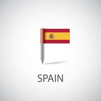 Kształt kąta flagi hiszpanii