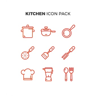 Kuchnia icon pack
