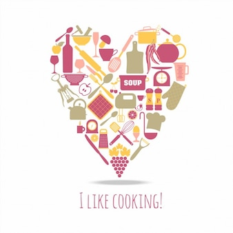 Kuchnia zestaw ikon