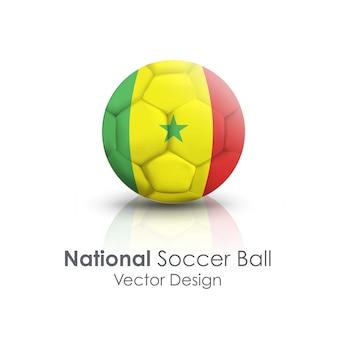 Kula obcinania rekreacji piłka kraju