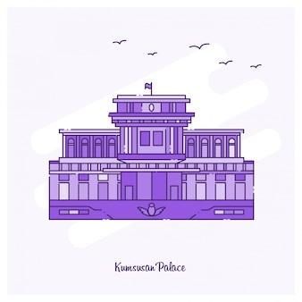Kumsusan palace punkt orientacyjny