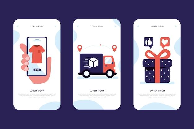 Kup kolekcję koncepcji aplikacji online