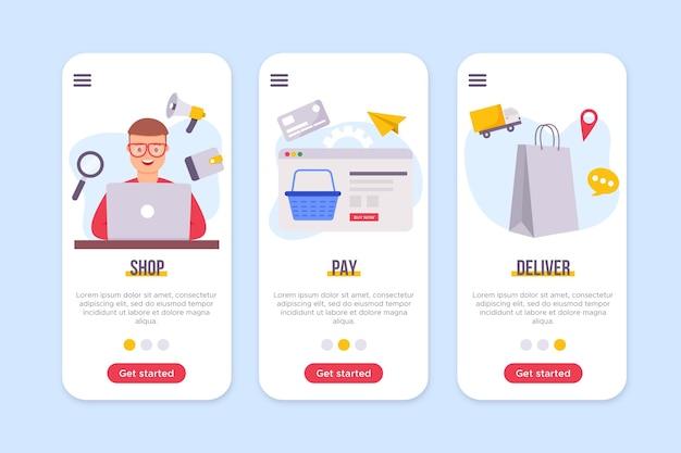 Kup koncepcję interfejsu online
