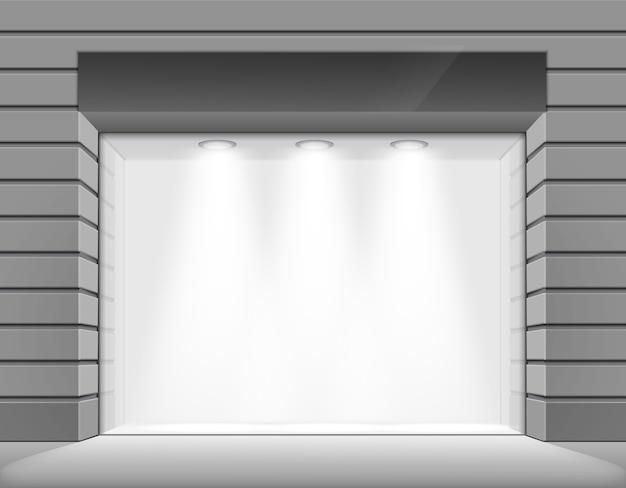 Kup sklep z butikami z dużym oknem