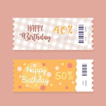 Kupon na prezent urodzinowy