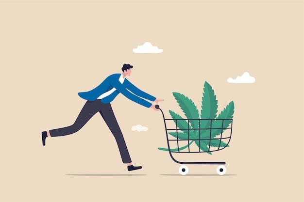 Kupowanie konopi cbd lub kupowanie marihuany do celów medycznych.
