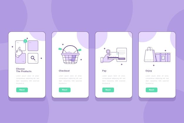 Kupuj ekrany aplikacji online