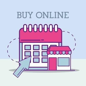 Kupuj online koncepcję
