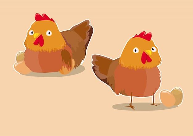 Kurki z jajkami