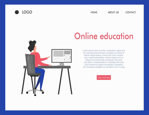 Kurs edukacji online studia z obszaru zdalnego za pomocą aplikacji online za pomocą różnych urządzeń, rysika, laptopa i smartfona z sygnałem internetowym na stacji roboczej widok izometryczny projekt banera grafiki wektorowej.