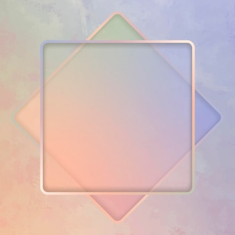 Kwadratowe tło ramki