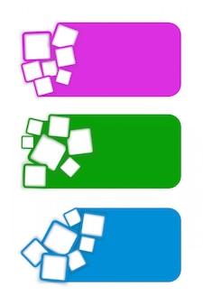 Kwadratowy baner