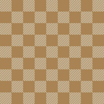 Kwadratowy wzór w paski. geometryczne proste tło. kreatywna i elegancka ilustracja w stylu
