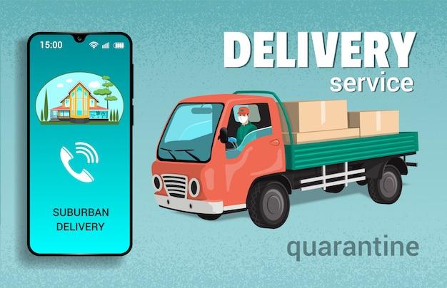 Kwarantanna usług dostawczych