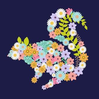 Kwiat wiewiórki