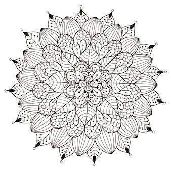 Kwiatowa mandala