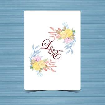 Kwiatowa odznaka ślubna z pięknymi żółtymi i fioletowymi różami