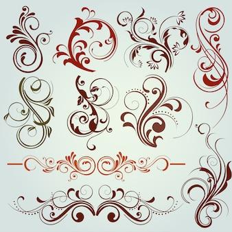 Kwiatowe elementy dekoracyjne