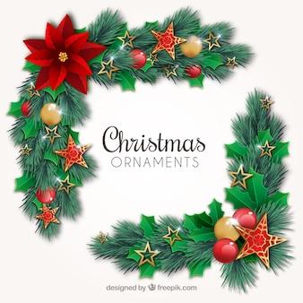 Kwiatowe ozdoby świąteczne