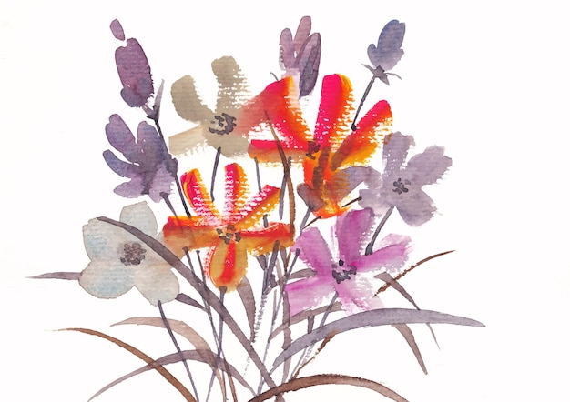 Kwiatowy charakter tła