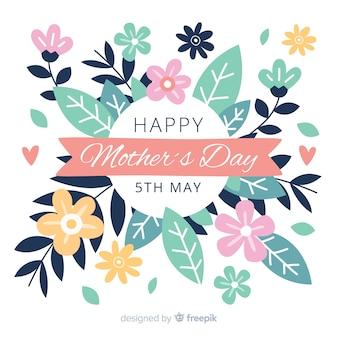 Kwiatowy dzień matki tła