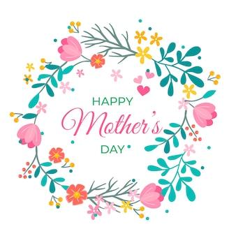 Kwiatowy dzień matki tło