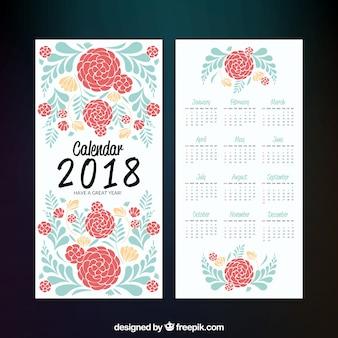 Kwiatowy kalendarz 2018