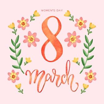 Kwiatowy międzynarodowy dzień kobiet