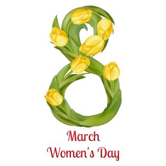 Kwiatowy ósmy dzień kobiet.