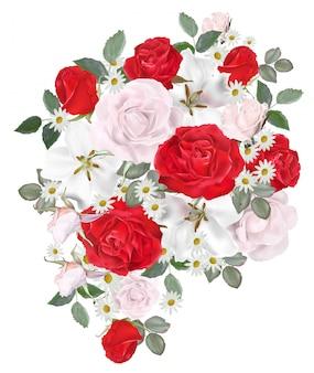 Kwiatowy piękny bukiet