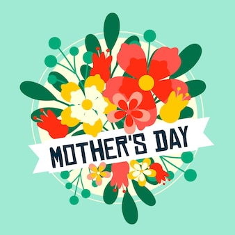 Kwiatowy styl na dzień matki